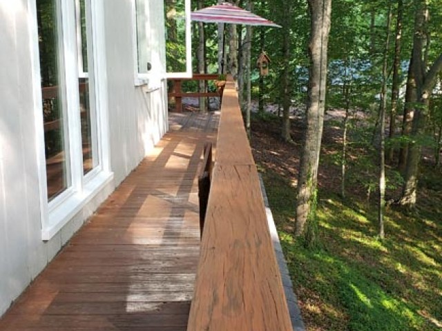 Deck Railing from Dinning Room