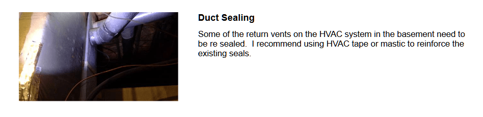 Save Energy with sealing ductwork