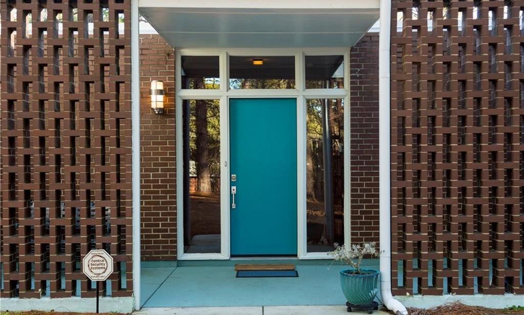 1959 Mid-Century Modern Front Door