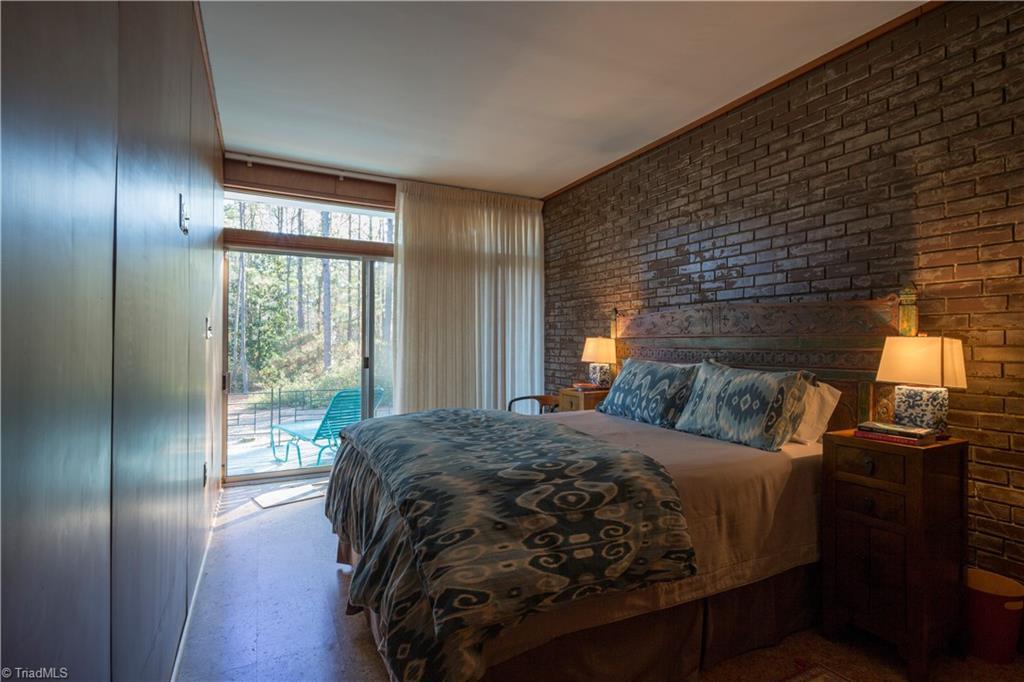 1959 Mid-Century Modern bedroom