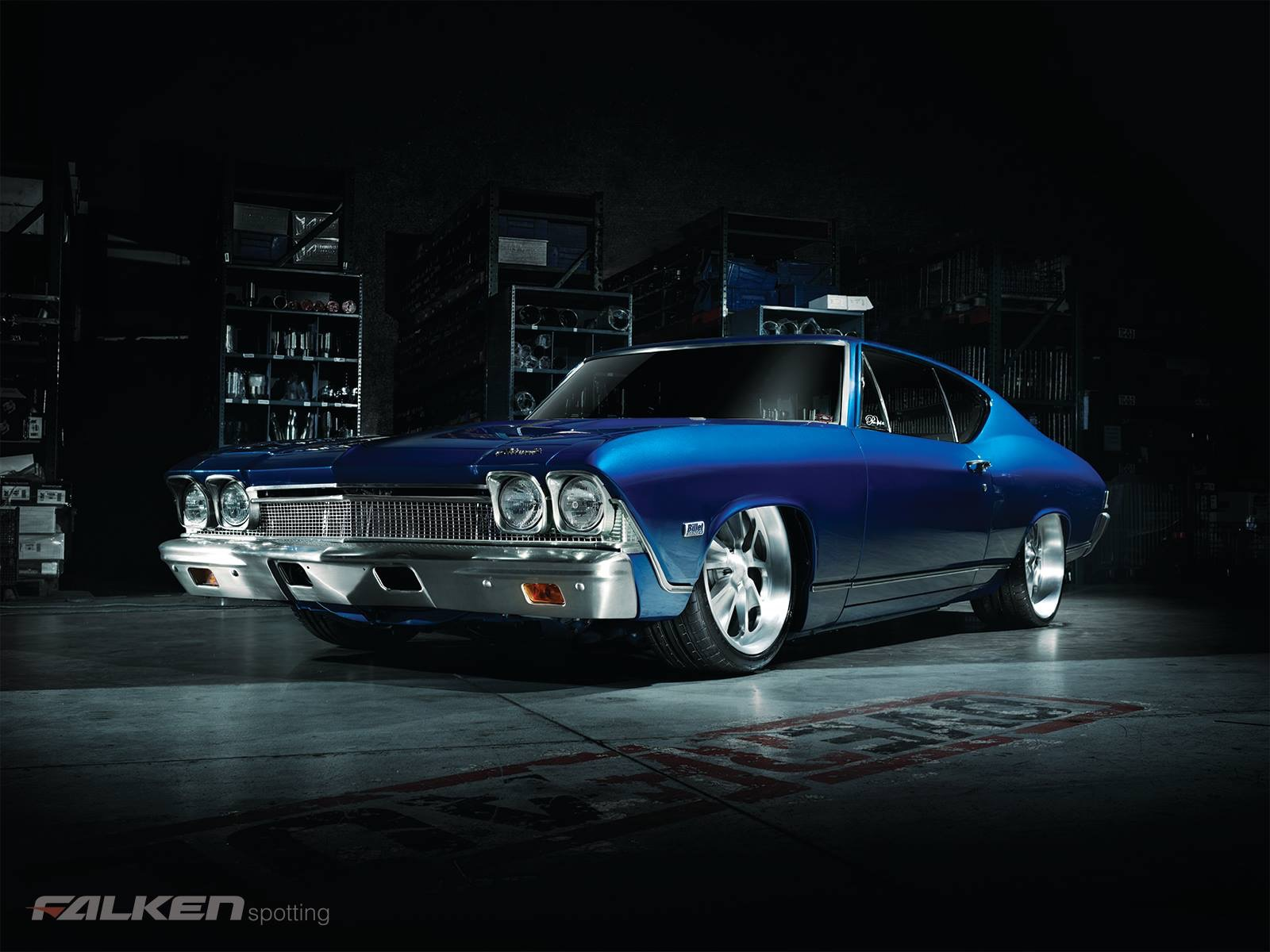 My 68 Chevelle restoration of a 1968 Malibu and pictures from the     My 68 Chevelle blue eyed devil 1968 chevy malibu Falken tires
