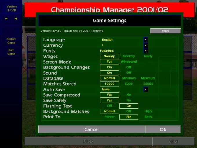 Eidos Games Championship Manager   Games World