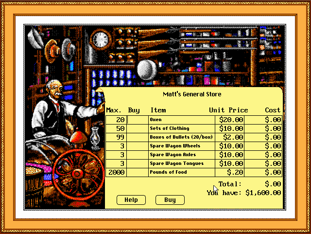 Download Oregon Trail Deluxe My Abandonware