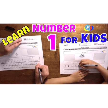 How To Learn Number 1 Teaching Resource For Kids | Cool Math Kids