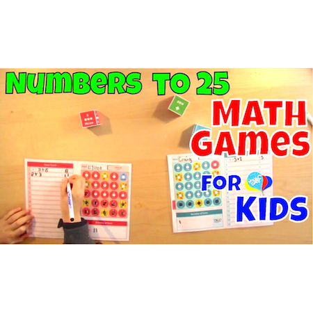 How To Play Numbers To 25 Math Games | Cool Math Kids