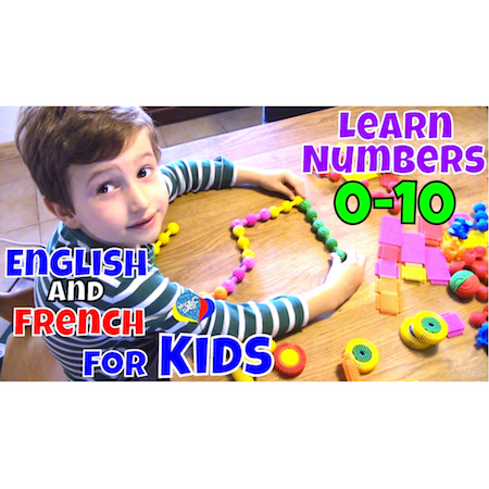 Numbers 0-10 | Learn English And French For Kids