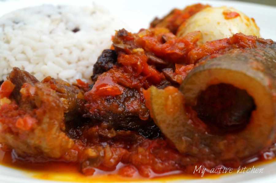how to cook ofada recipe