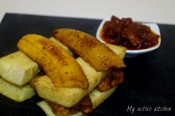 fried yam recipe