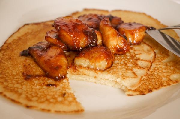 semolina pancake.