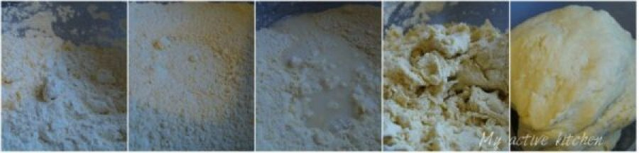 photograph shots of how to make shortcrust pastry