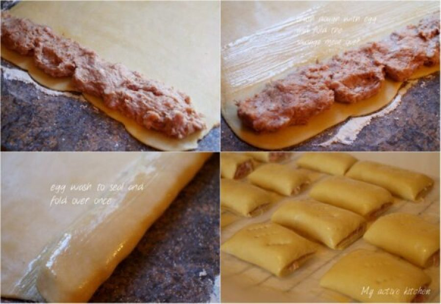 image of how to roll shortcrust pastry