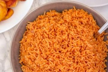 basmati jollof rice.
