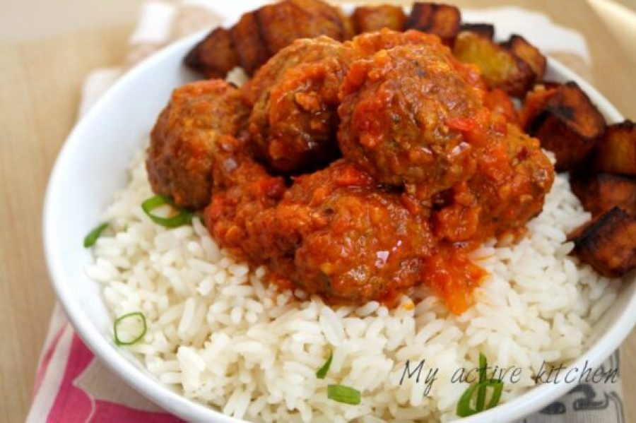 Nigerian meatballs recipe