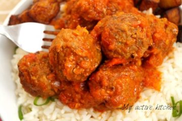 how to make nigerian meatballs