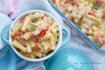 Nigerian macaroni and cheese recipe