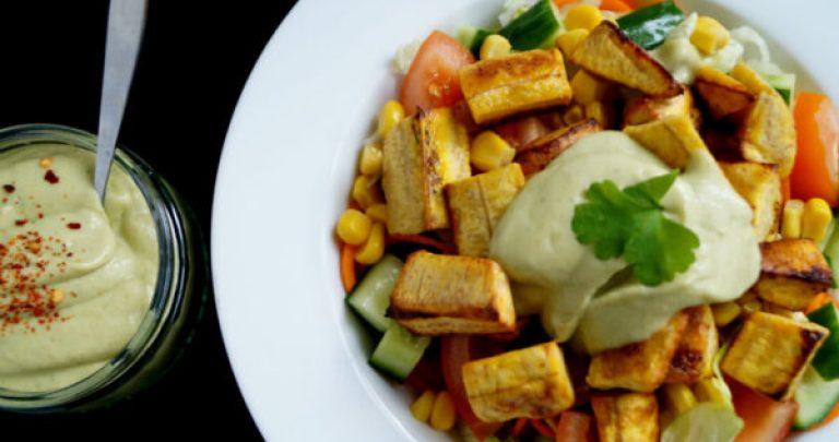 plantain salad recipe