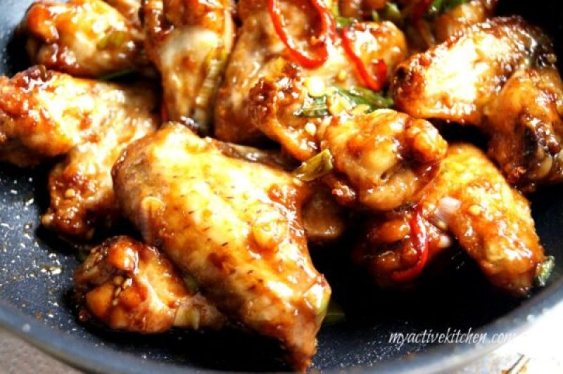 Nigerian chicken wings