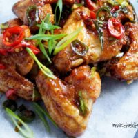 My Nigerian-Style Chicken Wings