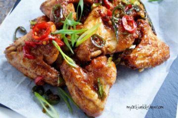nigerian style chicken wings