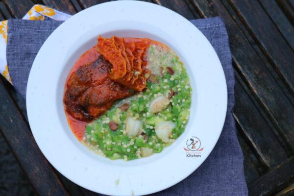 Plain Okra Soup