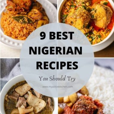 collage nigerian food round up.