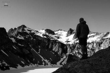 Jeff overlooking Venus Lake.