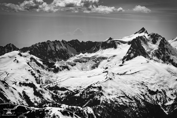 Nooksack glacier and cirque