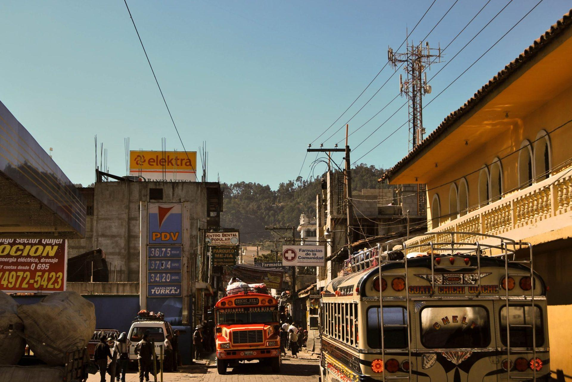 chichicastenango buses