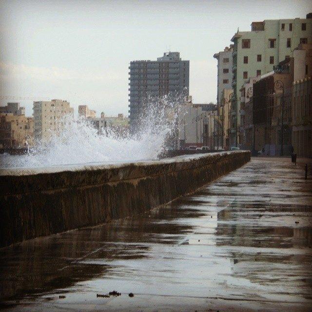 El Malecon, Havana - Cuba