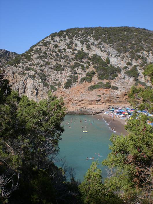 Best beaches in Sardinia: Crazy gorgeous fjords of Cala Domestica