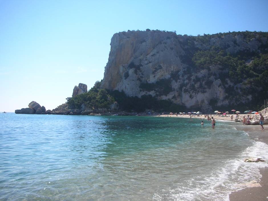 Swept away in Cala Luna, one of Sardinia best beaches