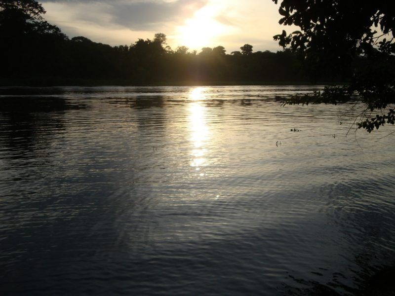Costa Rica, Tortuguero sunset