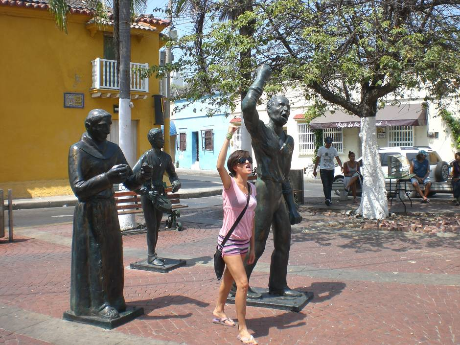 Places to visit in Colombia: Getsemani, Cartagena