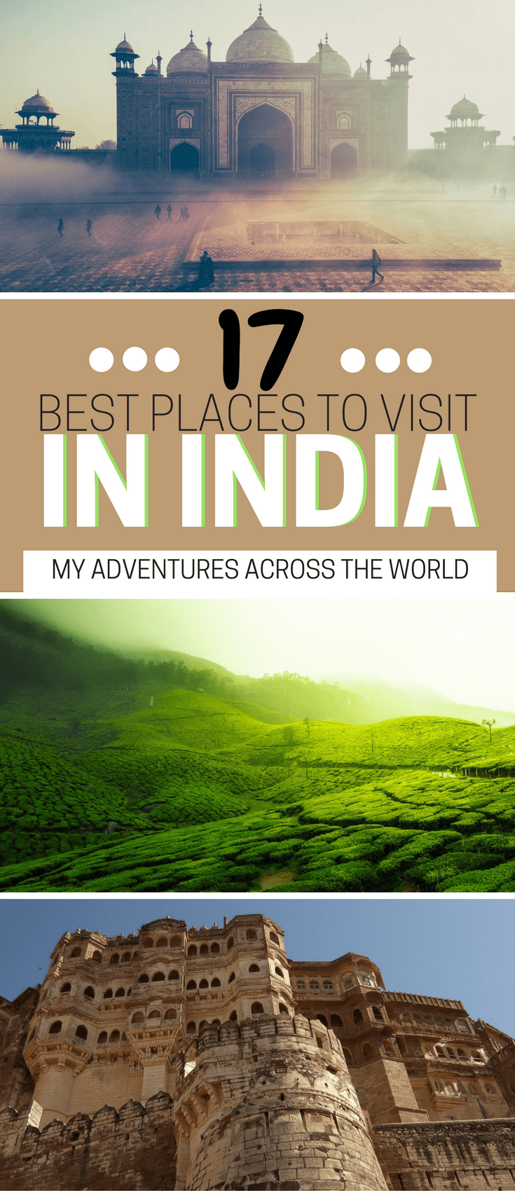 Learn about the best places to visit in India - via @clautavani