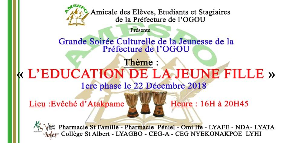 Togo/ Amicale des élèves, étudiants et stagiaires de la préfecture de l'Ogou (AMESPO)