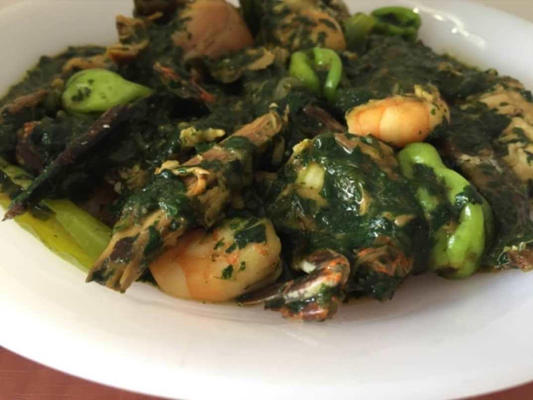Togo / Sauce d'adémé aux fruits de mer «Adémèdessi »