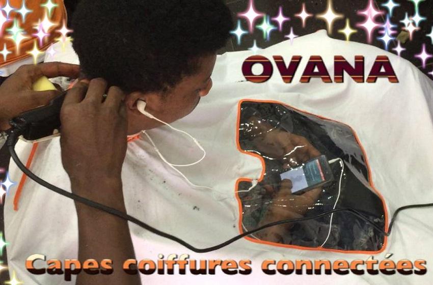Côte d'Ivoire/ OVANA; la cape de coiffure connectée de Valence Okou