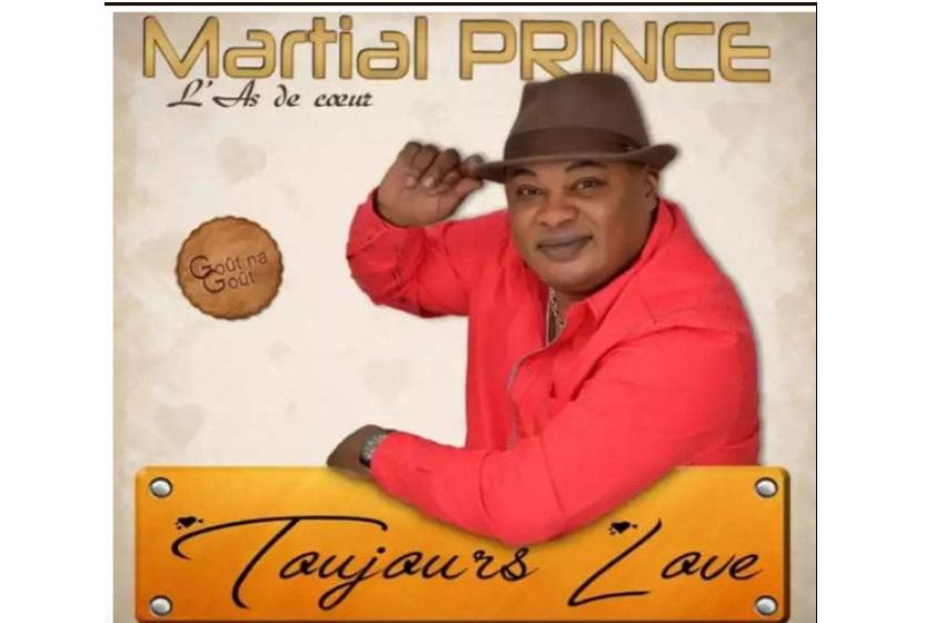 "Congo/Nouvel album de Martial Prince:  ""Toujours de Love ""."