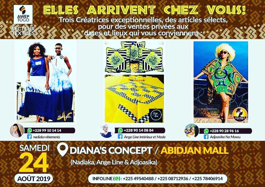 Côte d'Ivoire/ Expo & Ventes privées à Abidjan