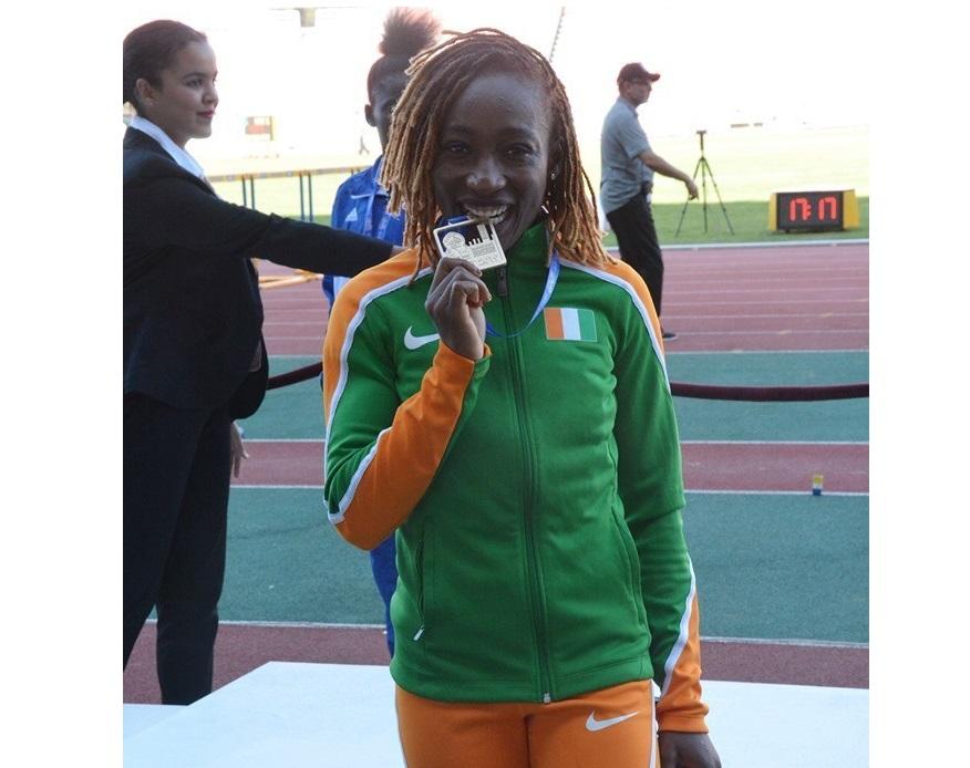 Sport/ Jeux Africains de Rabbat: Marie-Josée Ta Lou médaillée d'or au 100m
