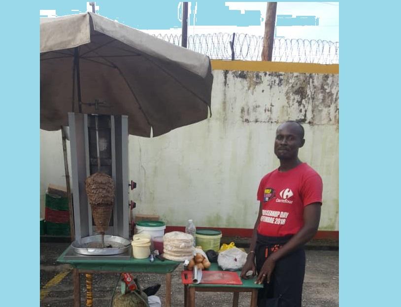 "Cameroun: Les ""Shawarmas"" de Marius aux expositions Miss&Master start-up"