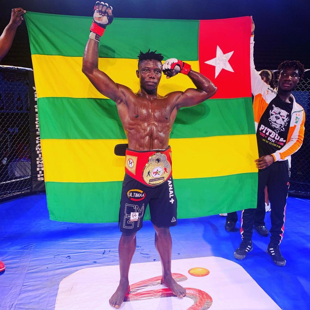 Arts Martiaux Mixtes/Baba Nadjombé, la fierté du Togo