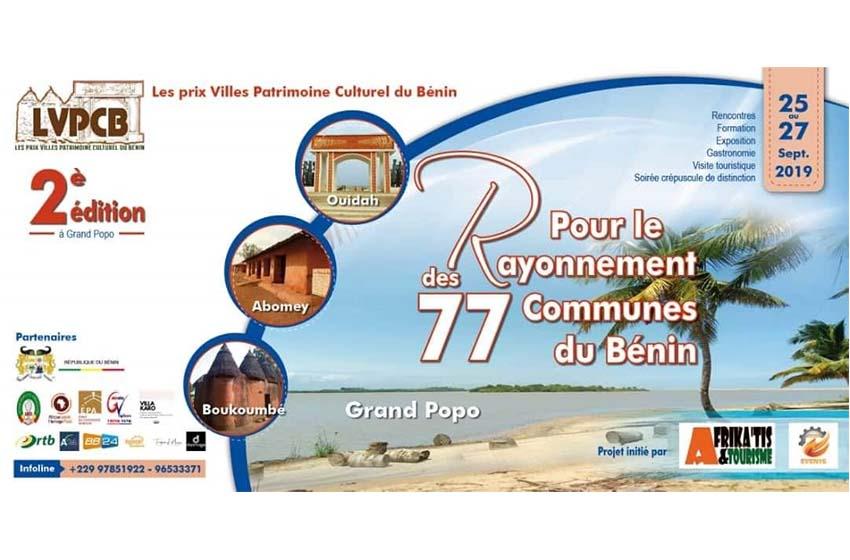 Bénin: Afrika'Tis &Tourisme va primer encore les villes exemplaires