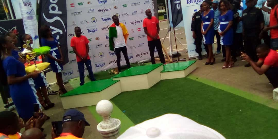 Athlétisme/Marathon international de Douala: un Camerounais savoure enfin la victoire
