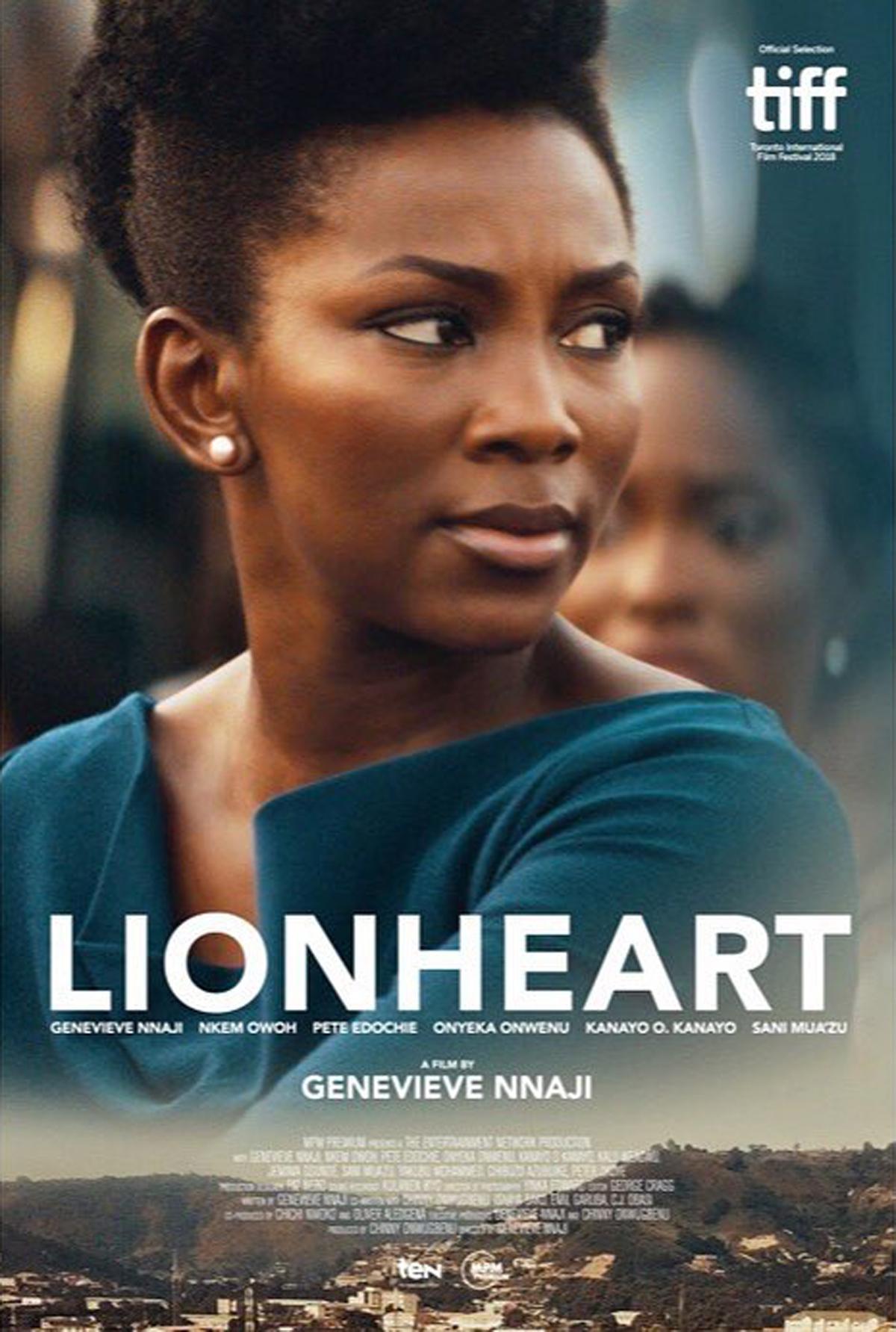 """""""LionHeart"""": Voici à combien, la réalisatrice Geneviève Nnaji vend le premier film nigérian nominé aux Oscars 2020 à Netflix."""
