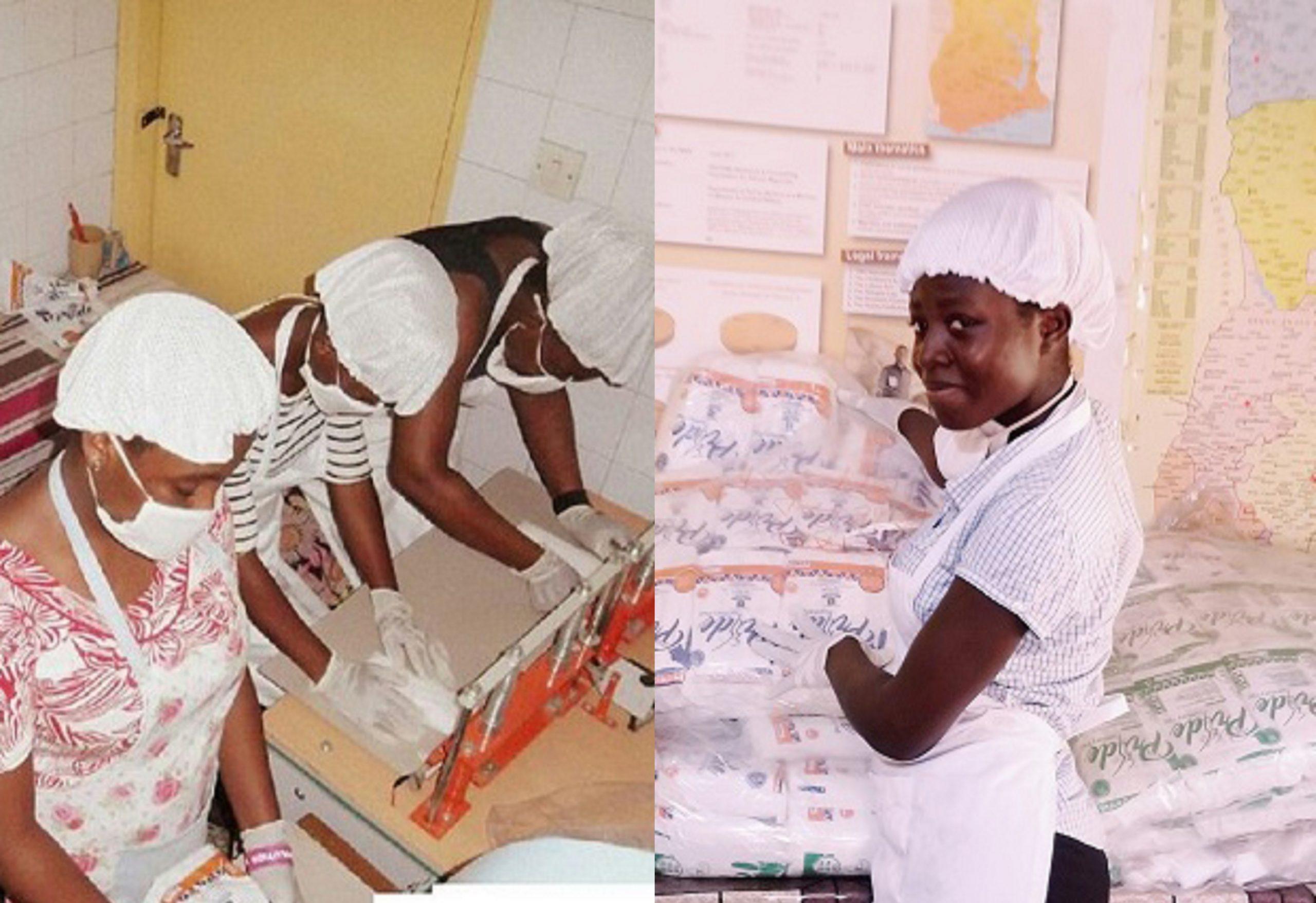 Ghana/PridePad: des fibres de bananiers aux serviettes hygiéniques et écologiques pour tous .