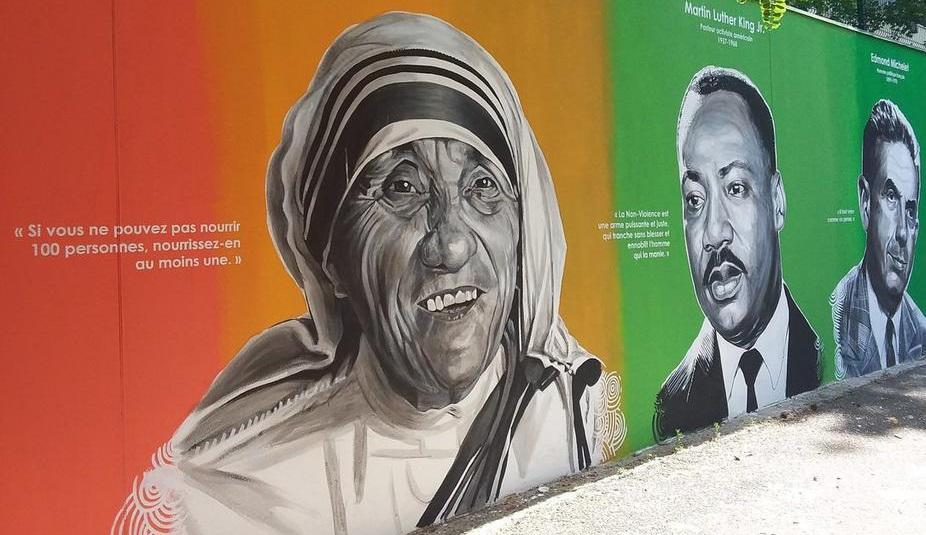 Paris: Pourquoi ces figures africaines sur les murs du 19ème Arrondissement?