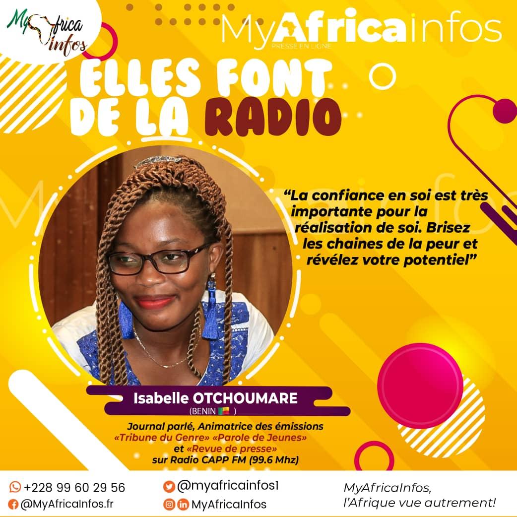 Elles Font de la Radio: dans les médias à Cotonou, l'impossible n'est pas Isabelle!