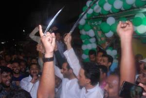 aimim ceremony with sword