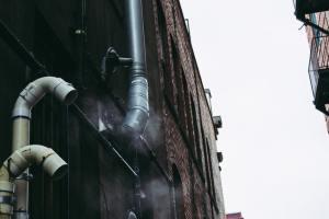 smoke steel vent